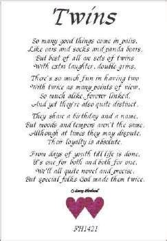 Inspirational quotes for twins birthday quotesgram