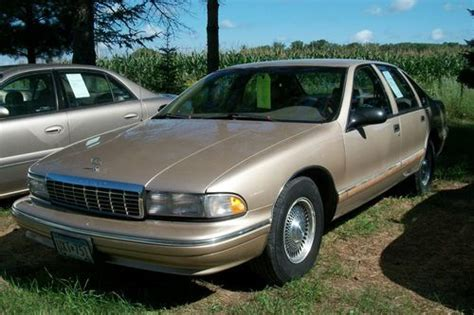 automobile air conditioning repair 1996 chevrolet caprice classic transmission control purchase used 1996 chevrolet caprice classic sedan 4 door 5 7l in menahga minnesota united states