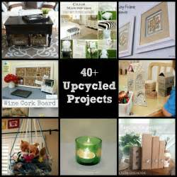 House Makeover 40 upcycled and recycled crafts and diy projects the