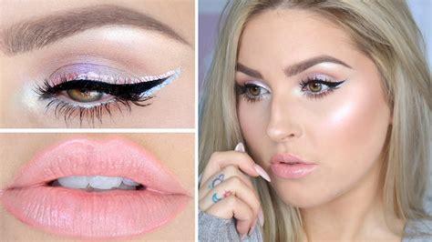 Makeup Beverly opal iridescent makeup tutorial moonchild palette shaaanxo