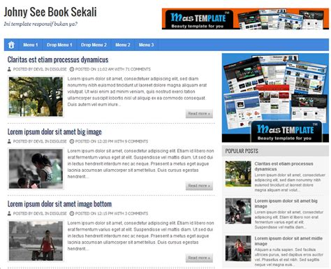 templates blogspot books share template johny see book sekali bllogspot