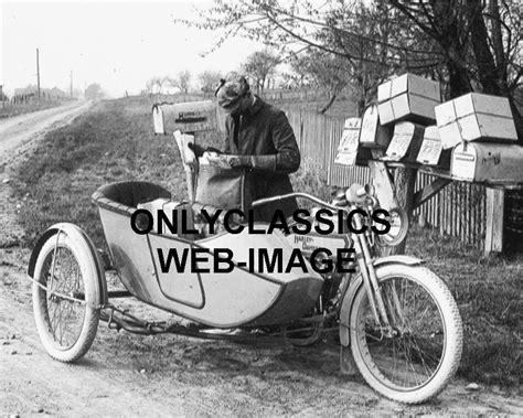 Davidson Post Office by 1914 Harley Davidson Sidecar Motorcycle Usps Postman Mail