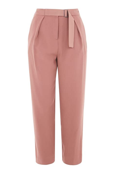 Topshops Flood Length Cropped Trouser by Utility Peg Trousers Topshop Europe