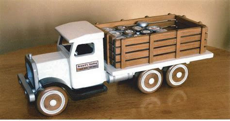 wooden truck 30 year wooden truck newer paint by howard