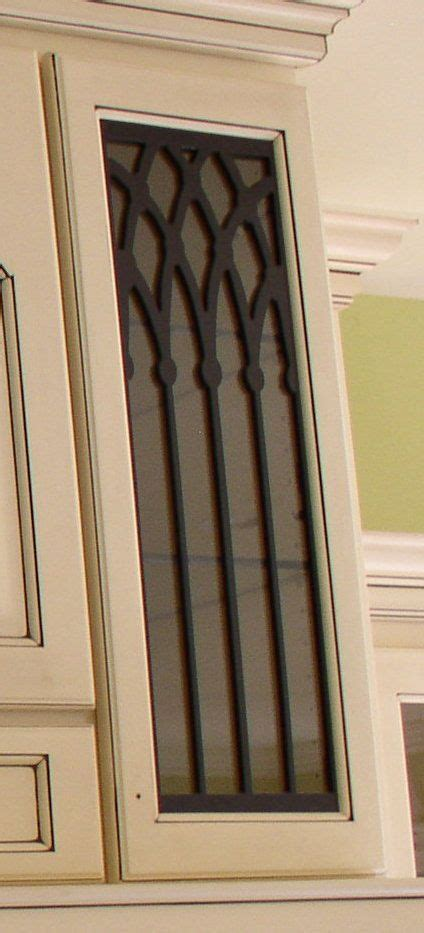 levi cabinet door panel insert  decorative iron