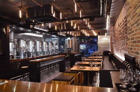 Restaurant Interior Designers Taps Brewpub Shenzhen