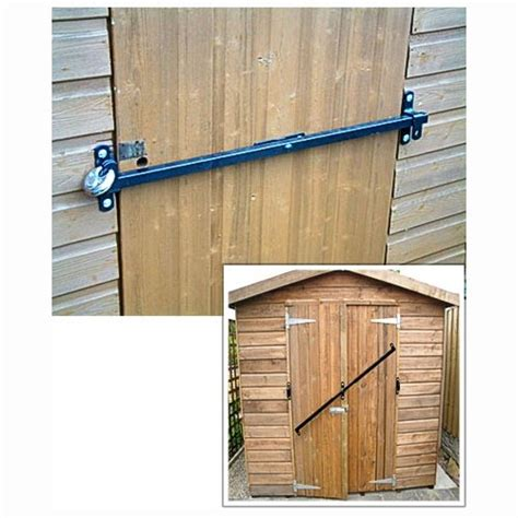 Shed Lock by Garden Shed Security Lock Fits To 1200 To 1800mm Wide Door Shedbar Garden Rattan Furniture