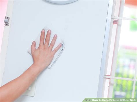 hang pictures without nails 5 ways to hang pictures without nails wikihow