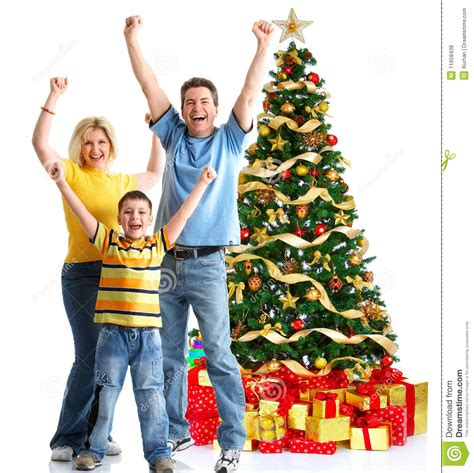 family christmas tree jarrettsville family and a tree royalty free stock photos image 11658438