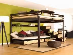 bett mit treppe für erwachsene hochbett selber bauen erwachsene daredevz