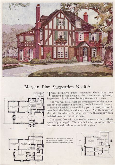 tudor house plans 1920 s english tudor revival 1923 morgan building with