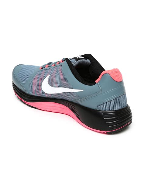 nike all sports shoes myntra nike grey revolve 2 running shoes 731398 buy