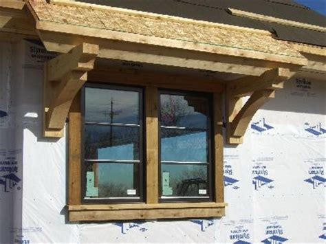 wooden window awnings 21 best knee braces and corbels images on pinterest