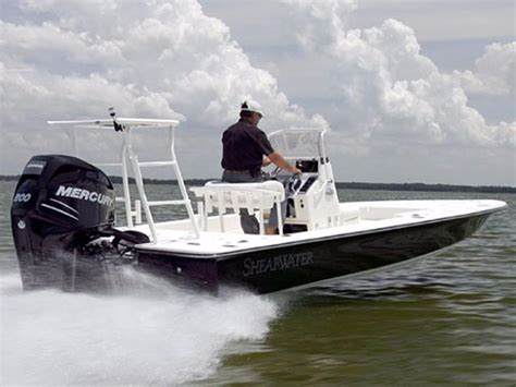 shearwater center console boats 2018 new shearwater x22 hybrid center console fishing boat