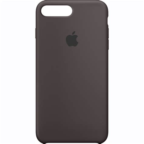 apple iphone 7 plus silicone cocoa mmt12zm a b h photo