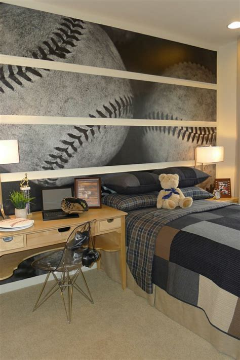 baseball bedroom wallpaper bedroom wallpaper ideas like wallpaper the bedrooms look