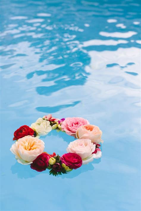 best 25 floating pool decorations ideas on
