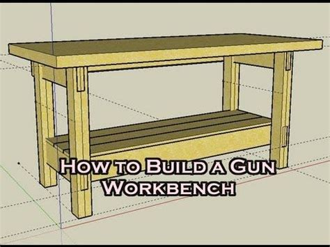 gunsmithing bench hd how to build a simple workbench for 25 gunsmithing