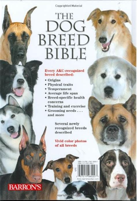 dogs in the bible the breed bible descriptions and photos of every breed recognized by the akc