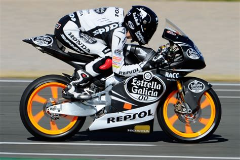 test moto3 motogp news valencia moto3 test rins upbeat despite