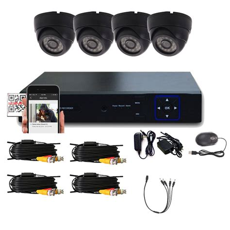 indoor security system 4ch hdmi cctv indoor dvr vision home surveillance