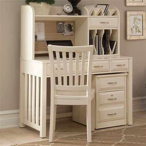 desk and hutch set liberty furniture hton bay white home office desk