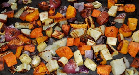 oven roasted winter vegetables mountain mama cooks