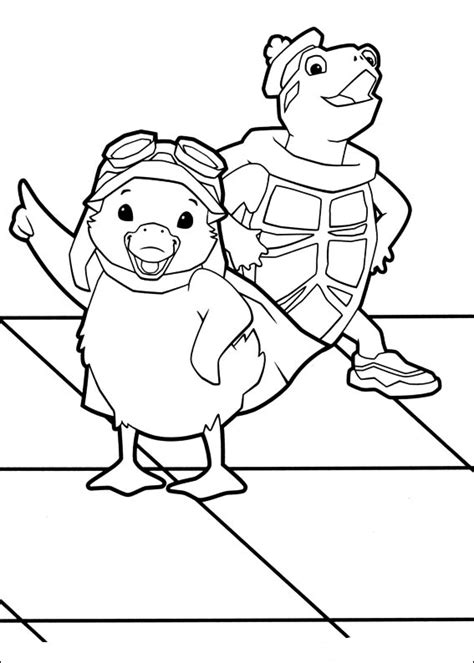 coloring pages of the wonder pets coloring book wonder pets