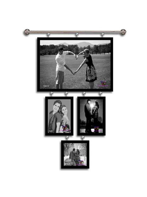 hanging photo collage hanging photo frame collage chandelier