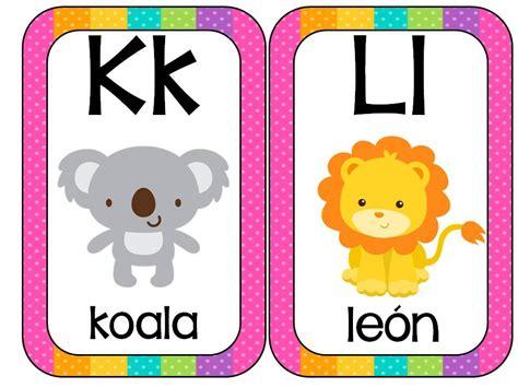 imagenes de animales por abecedario abecedario animales formato tarjetas 6 imagenes educativas