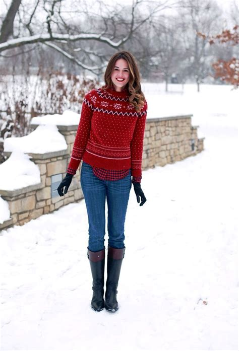stylish christmas sweater outfit ideas  prove