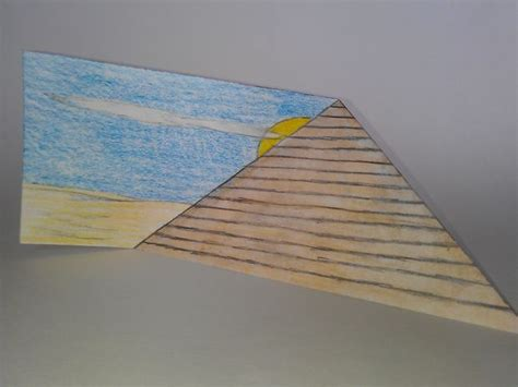 Make A 3d Pyramid Out Of Paper - paper 3d pyramid
