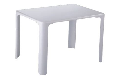 Small White Table L by Practical White Plastic Simple Kid S Table Small Children