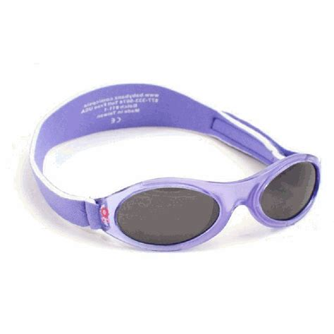 Posey Baby Eye Protectors babybanz kidz banz adventure purple flower uv eye