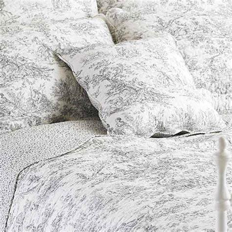 toile de jouy bed linen paoletti canterbury tales toile de jouy cotton
