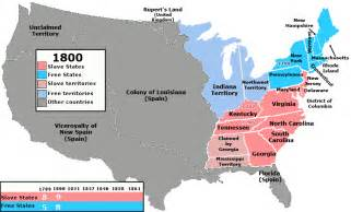 United States Map 1800 by File Us Slavefree1800 Gif Wikimedia Commons