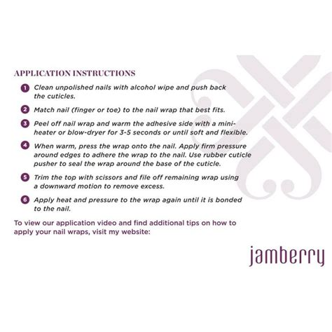 printable jamberry instructions 56 best images about jamberry on pinterest jamberry