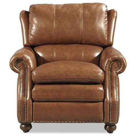 traditional recliners craftmaster l1646 traditional leather high leg recliner