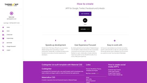 layout template codeigniter beautiful website framework template vignette resume