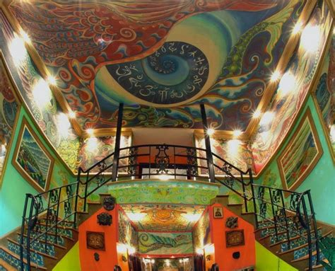 masonic lodges moon to moon a former masonic lodge s psychedelic makeover
