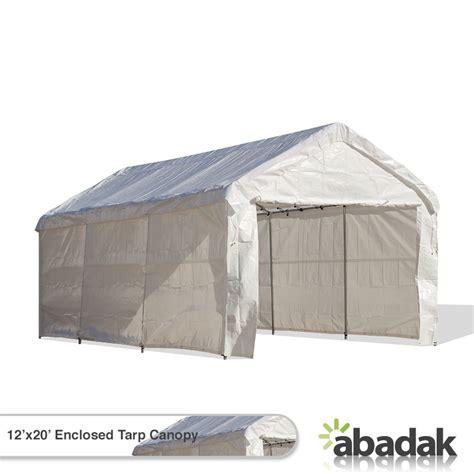 Enclosed Canopy 12 X 20 Tarp Tent Canopy Enclosed