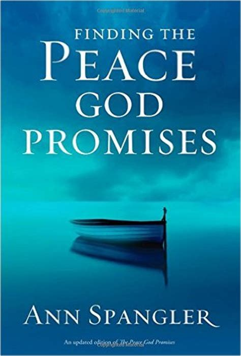 the peace promise trusting god to solve the unsolvable books finding the peace god promises