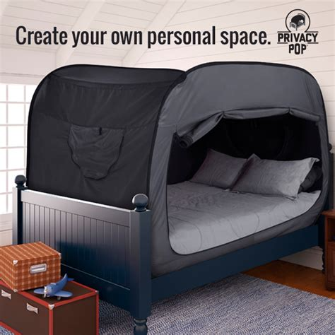 create your own bedding privacy pop promotes relaxation and sensory organization