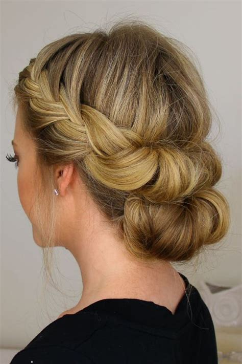 hairstyles for parties for shoulder length hair 24 lovely medium length hairstyles for fall weddings page 2