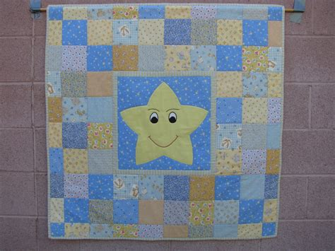 Free Patchwork Cot Quilt Patterns - easy applique patchwork baby crib quilt pattern