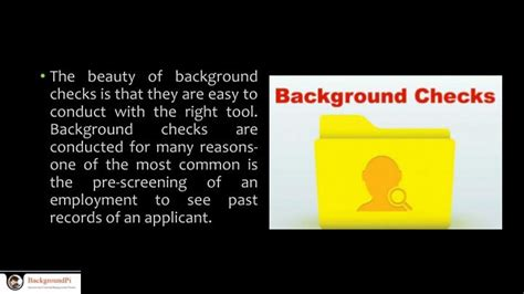 Conducting Background Check Ppt Techniques In Conducting Background Checks