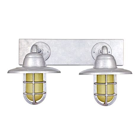 Galvanized Vanity Light Galvanized Vanity Light Ajax Galvanized 3 Light Bathroom Vanity Light Design House 3 Lights Or