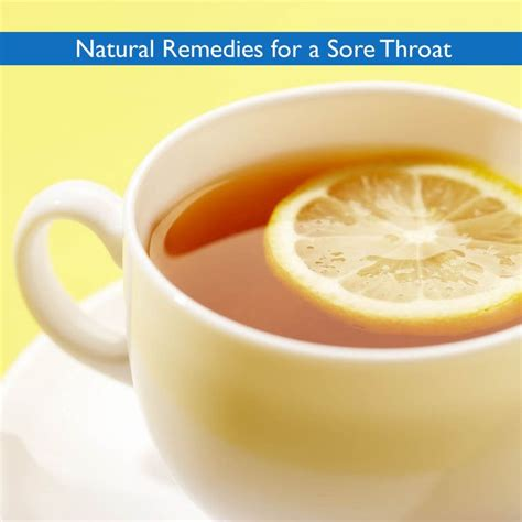 remedies for a sore throat health