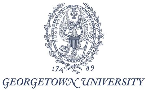 Georgetown Mba Color georgetown logo logospike and