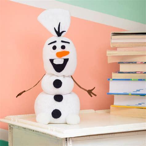 Elsa Sock Snowman No Necesitas Ser Elsa Para Crear Tu Propio Olaf Necesitas Un Calcet 237 N Blanco Y Algunas
